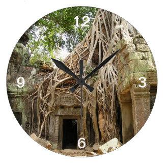 Angkor Wat Cambodia Clock