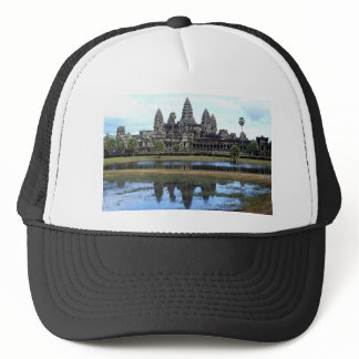 Angkor Wat Cambodia Temple Travel Photography Trucker Hat