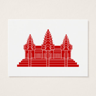 Angkor Wat Cambodian / Khmer Flag Business Card