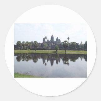 Angkor Wat Classic Round Sticker