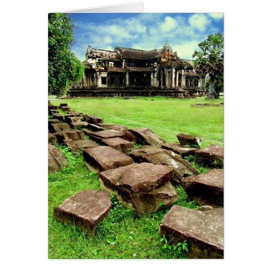 Angkor Wat Crumbled Causeway Card