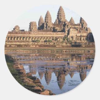 -Angkor-Wat-[kan.k] Classic Round Sticker