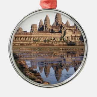 -Angkor-Wat-[kan.k] Metal Ornament