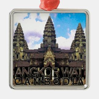 Angkor Wat Metal Ornament