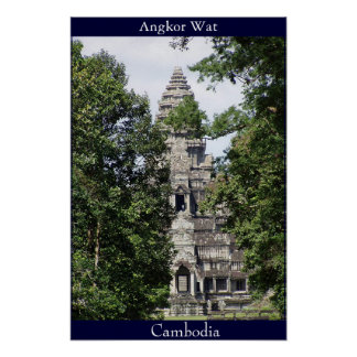 Angkor Wat Póster