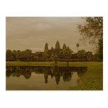 Angkor Wat Reflections Postcard