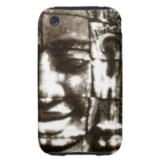 Angkor Wat Smiling Face iPhone 3G 3GS C-M T ™ Case Tough iPhone 3 Cases