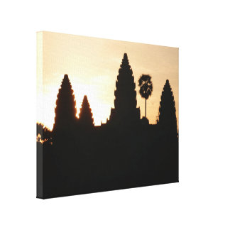 angkor wat spires canvas
