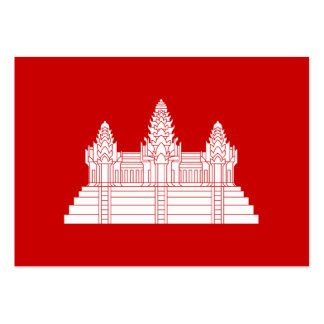 Angkor Wat Ver.2.0. Khmer Temple Large Business Card