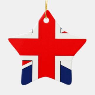 ANGLAIS.png FLAG Ceramic Ornament