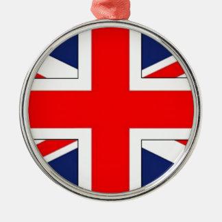 ANGLAIS.png FLAG Metal Ornament
