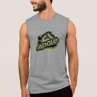 "Angle ""Bender 2"" Sleeveless Tee - Gray"
