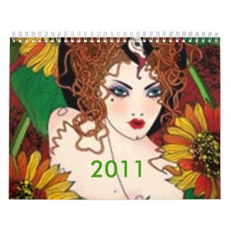angle face calendar