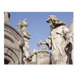 Angle Statue Close Up in La Recoleta Cemetery Postcard