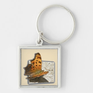 Angle Wing Comma Butterfly Series Keychain