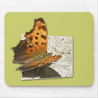 Angle Wing Comma Butterfly Series Mouse Pad