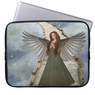Angle With Wings Laptop Sleeve