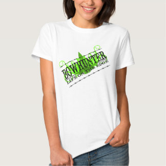 Angled, Life on the Edge, Bowhunter T-Shirt
