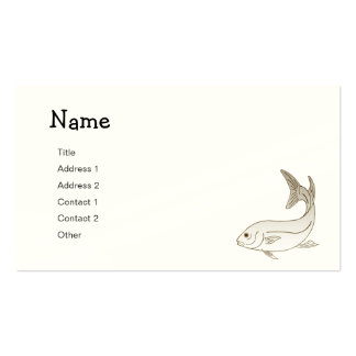 Angler Business Cards