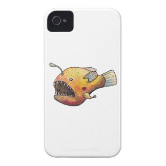 Angler fish love iPhone 4 cover