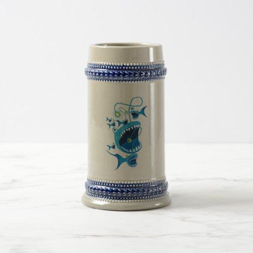 angler fish mugs