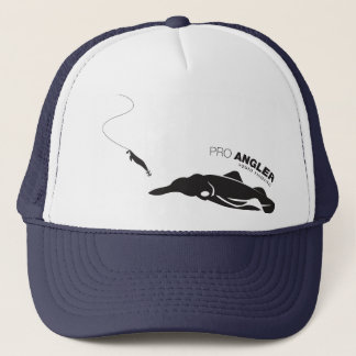 Angler for Squid Fishing Trucker Hat