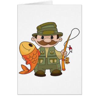 Angler Greeting Cards