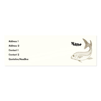 Angler Mini Business Card