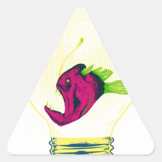 Anglerfish bulb stickers