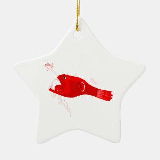Anglerfish Ceramic Ornament