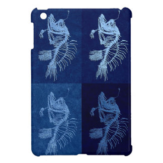Anglerfish collage mini ipad case