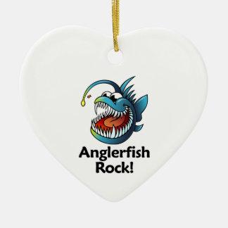 Anglerfish Rock! Ceramic Ornament