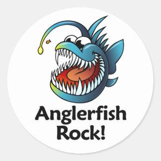 Anglerfish Rock! Stickers