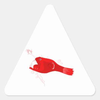 Anglerfish Triangle Stickers