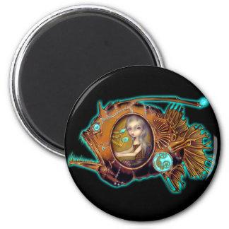 """""""Anglerfish Submarine"""" Magnet"""