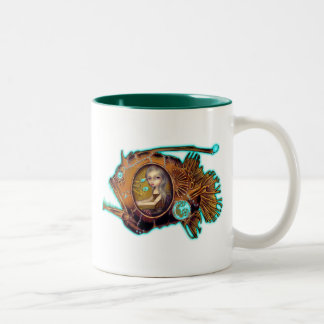 Anglerfish Submarine steampunk Mug