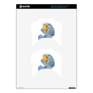 Anglerfish Swooping up Lure Drawing Xbox 360 Controller Skins