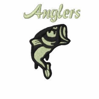 Anglers Custom Embroidered Polo
