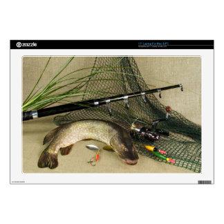 Anglers Dream Fishing Still Life Skin For Laptop