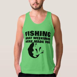 Anglers Fishing Themed Funny Slogan Tank Top