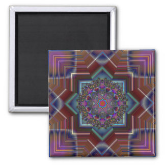Angles 2 Inch Square Magnet