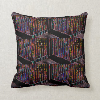 Angles And Lines 2 Throw Pillow