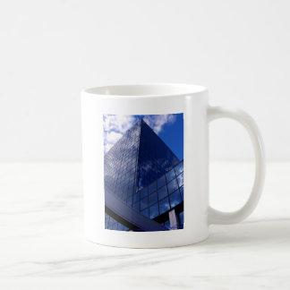 Angles in Blue Coffee Mug