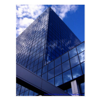 Angles in Blue Postcard