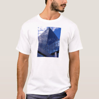 Angles in Blue T-Shirt