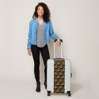 Angles of Gold Luggage