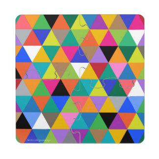 'Angles' Puzzle Coaster
