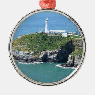 Anglesey Adorno Redondo Plateado