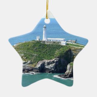 Anglesey Adorno De Cerámica En Forma De Estrella