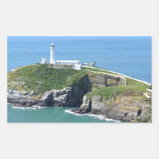 Anglesey Pegatina Rectangular